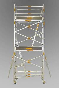 Synergy Scaffolding Aluminium –Dimensions: 0.7 X 2.5 X 5.4 Revesby Bankstown Area Preview