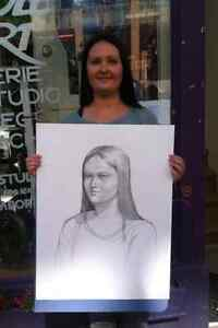 the portrait drawing  art West Island Greater Montréal image 2