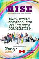 RISE Program:  Employment Services for Adults with Disabilities