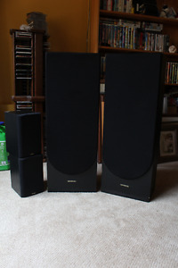 JVC AND KENWOOD SURROUND SOUND SYSTEM
