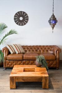 Table a café bois de rose naturelle