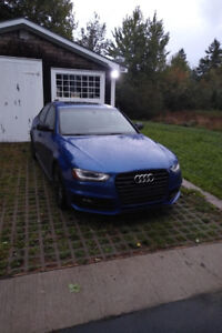 2016 Audi A4 2.0T Progressiv Plus Quattro 6speed Manual Blue