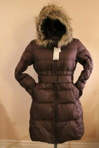 Uniqlo Woman Versatile Down Coat Brown Size: Medium