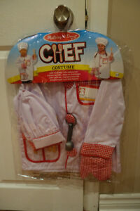 Melissa & Doug Chef Role Play Costume -brand new, still in bag