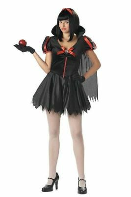 NWT Dark Goth Gothic Snow White Fright fairy tale XS Halloween Costume - Dark Snow White Kostüm