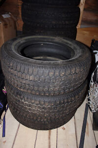 Winter Studded Tires - Uniroyal Tiger Paw