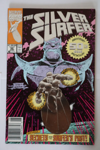 Silver Surfer#50  Newstand Variant! Infinity Gauntlet comic book