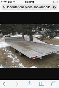 2012 load rite snowmobile trailer $3000obo