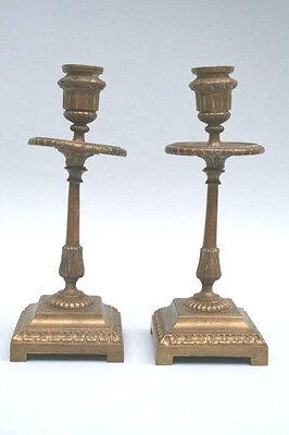 Leuchter, Kerzenleuchter, ein Paar, 19.Jahrhundert