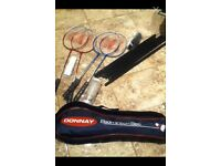DONNAY BADMINTON SET