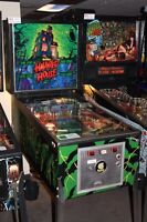Looking for vintage haunted pinball machine