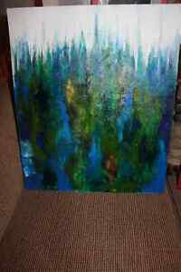 Peinture Tableau Painting Tableaux Abstract Abstraite by MILLA! West Island Greater Montréal image 8