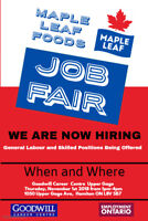 MAPLE LEAF JOB FAIR