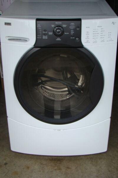 Kenmore front-loading washer
