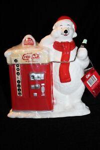 *NEW* Coca Cola Polar Bear Cookie Jar
