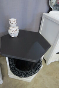 Shabby Chic Side Table/Pet Bed London Ontario image 2