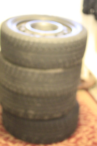 Winter Tires and Rims 205 55 R16