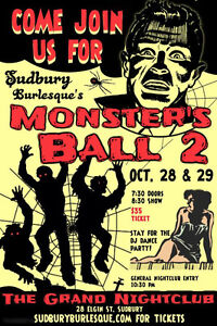 Monster's Ball 2! Presented by Sudbury Burlesque