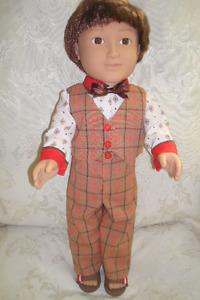 """18 """" Boy doll, Sunday Best ensemble"""