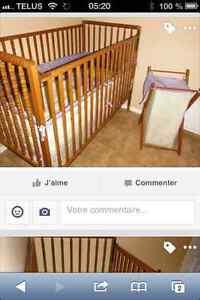 LIT de bébé Saguenay Saguenay-Lac-Saint-Jean image 1