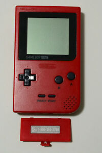 Rare *RED GAME BOY POCKET* in excellent condition!