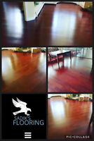 Laminate flooring installation with materials only 2.49/sf