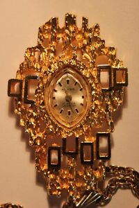 Vintage KEYES WindUp Necklace Watch (VIEW OTHER ADS)