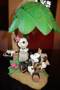 lampe Mickey et Minnie Mouse Hawai