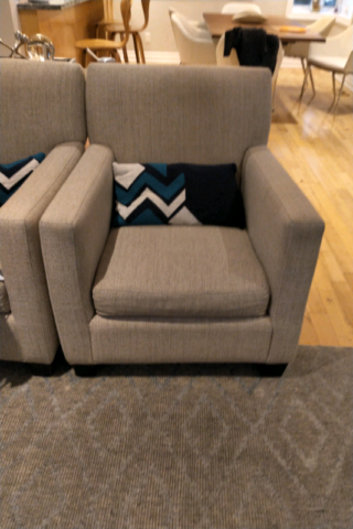 Living room chairs 300 for the pair | Chairs & Recliners ...