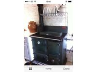 Solid Fuel Rayburn Royal with back boiler