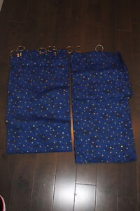 Boys Star Curtains