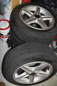 Used Volvo V70-98 Tires and Rims - Set of 4 London Ontario image 2
