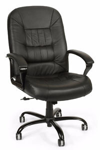 Leather office chair Peterborough Peterborough Area image 1