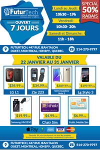 Sale Speciale ! Lg L1,Lg B470, ZTE Z223, ZTE Z432,  $34.99
