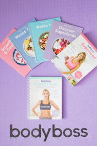 Bodyboss Fitness Program and Nutrition Guide pdfs (digital)