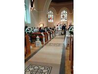 Wedding Church/Chapel Decorated.