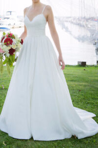 WEDDING DRESS - would fit size 0-4 - great condition