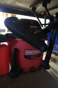 Craftsman 6 HP 60 litre shop vac