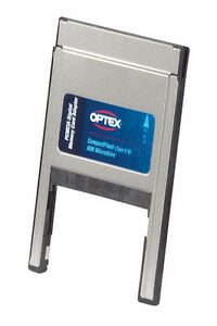OPTEX PCMCIA Adapter - CF TYPE I & I I and IBM Microdrive Memory