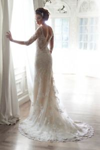 Robe mariage en dentelle perlée Maggie Sottero