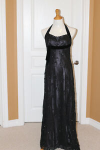Black on Silver dress from Monsoon (UK) fits US size 8