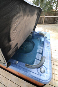 Hot tub + cover for low price