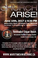 Church Arise! Conference in Moncton on June 10th!