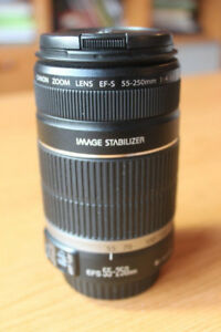 Canon EFS 55-250mm IS II (Like new)