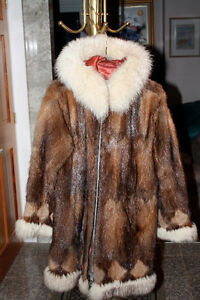 Hand Crafted Eskimo Fur Coat