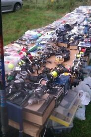 fishing tackle stall u will not believe how much is here nice earner for someone