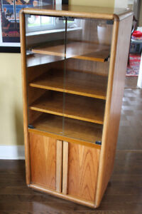 RETRO Stereo/Turntable Cabinet with Vinyl Storage!!