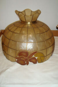 Vintage lamp shade and Reading lamp  for sale