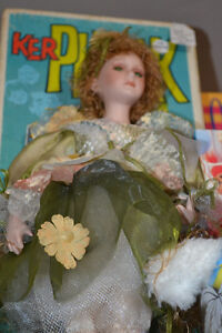 FAIRY DOLL - Cathay Collection LOW #81 of 5000 bisque porcelain Windsor Region Ontario image 3