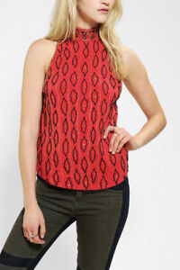 Urban Outfitters Ecote Sequin and Beaded Muscle Tank Top XS  NWT
